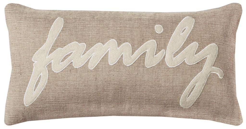 "11"" x 21"" Pillow - Rizzy Home DFPT09960NTIV1121"