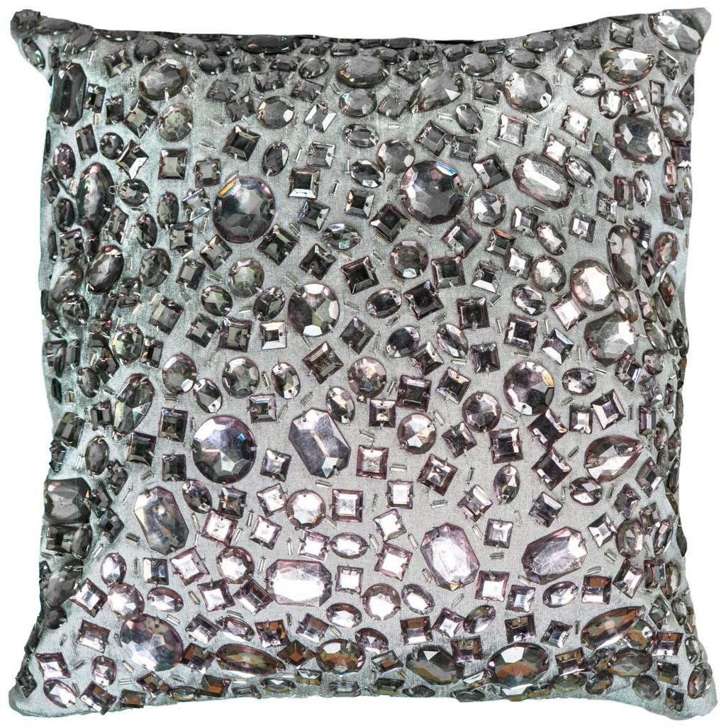 """12"""" x 12"""" Pillow - Rizzy Home PILT05936GY001212"""