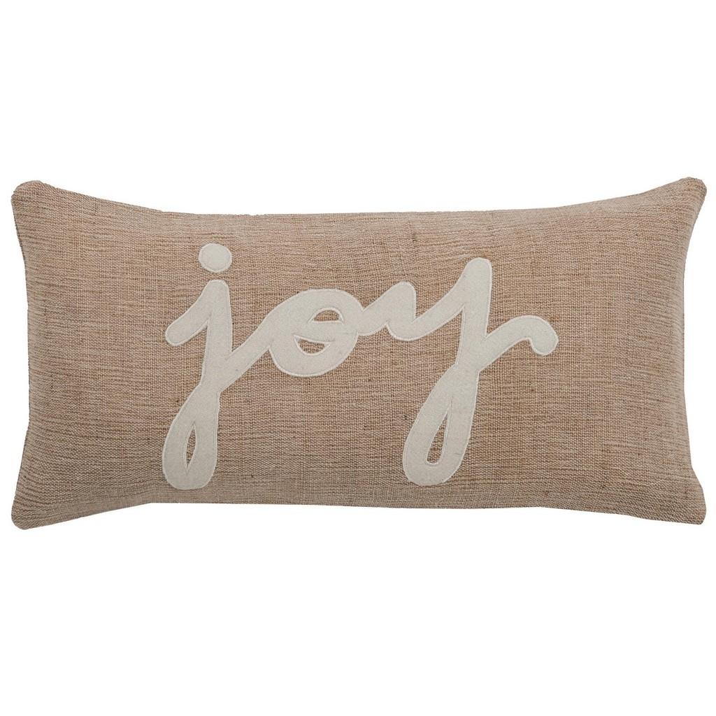 """11"""" x 21"""" Pillow - Rizzy Home PILT06152BEWH1121"""