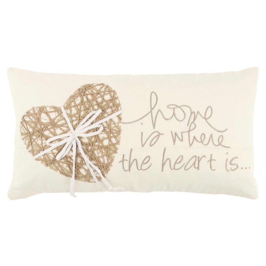 """11"""" x 21"""" Pillow - Rizzy Home PILT13306IVNT1121"""