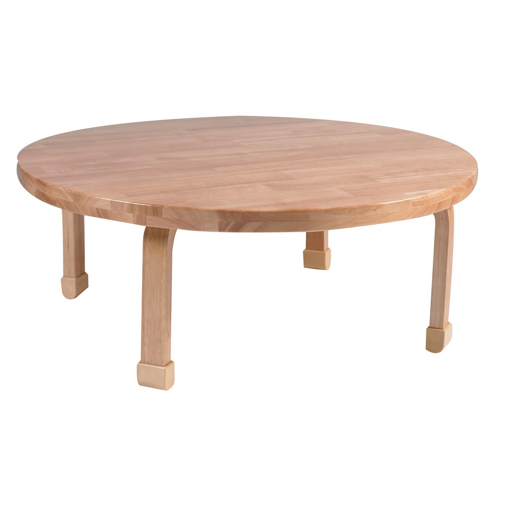 "36"" Dia Round NaturalWood Table Top with 14"" Legs - Children"