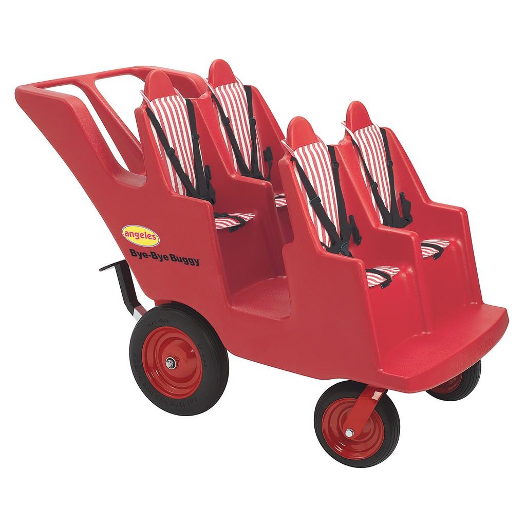 "4 Passenger Never Flat ""Fat Tire"" Bye Bye Buggy - Children"