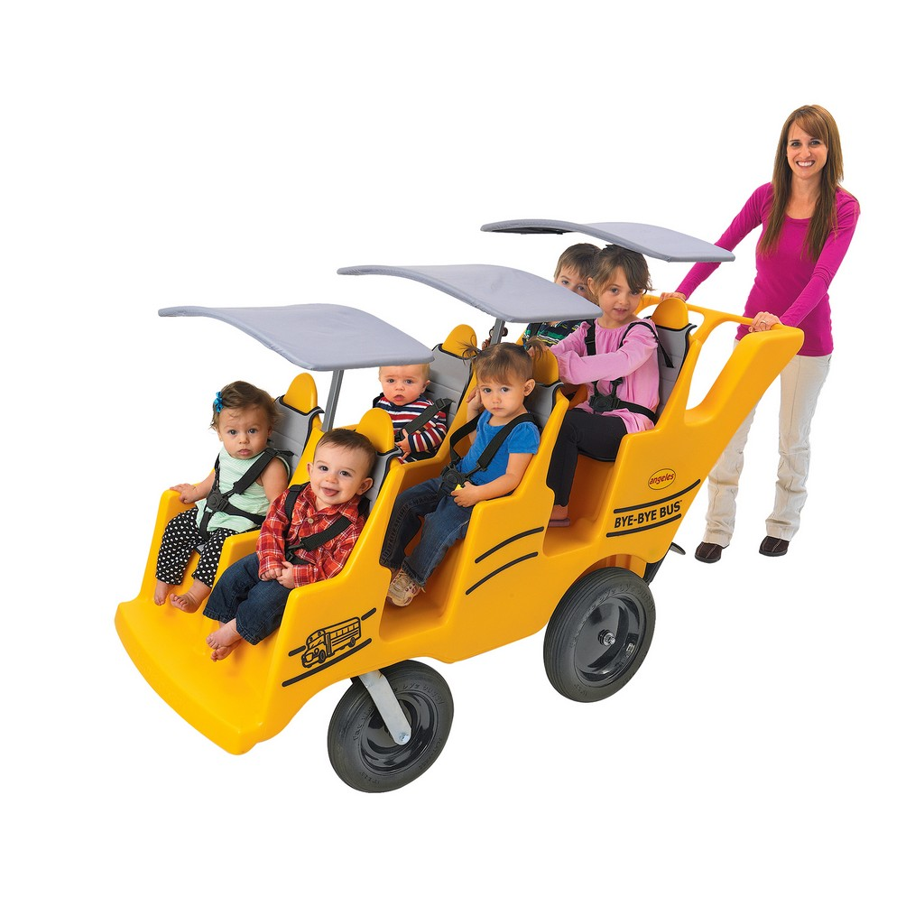 "6 Passenger Never Flat ""Fat Tire"" Bye-Bye Bus - Children"