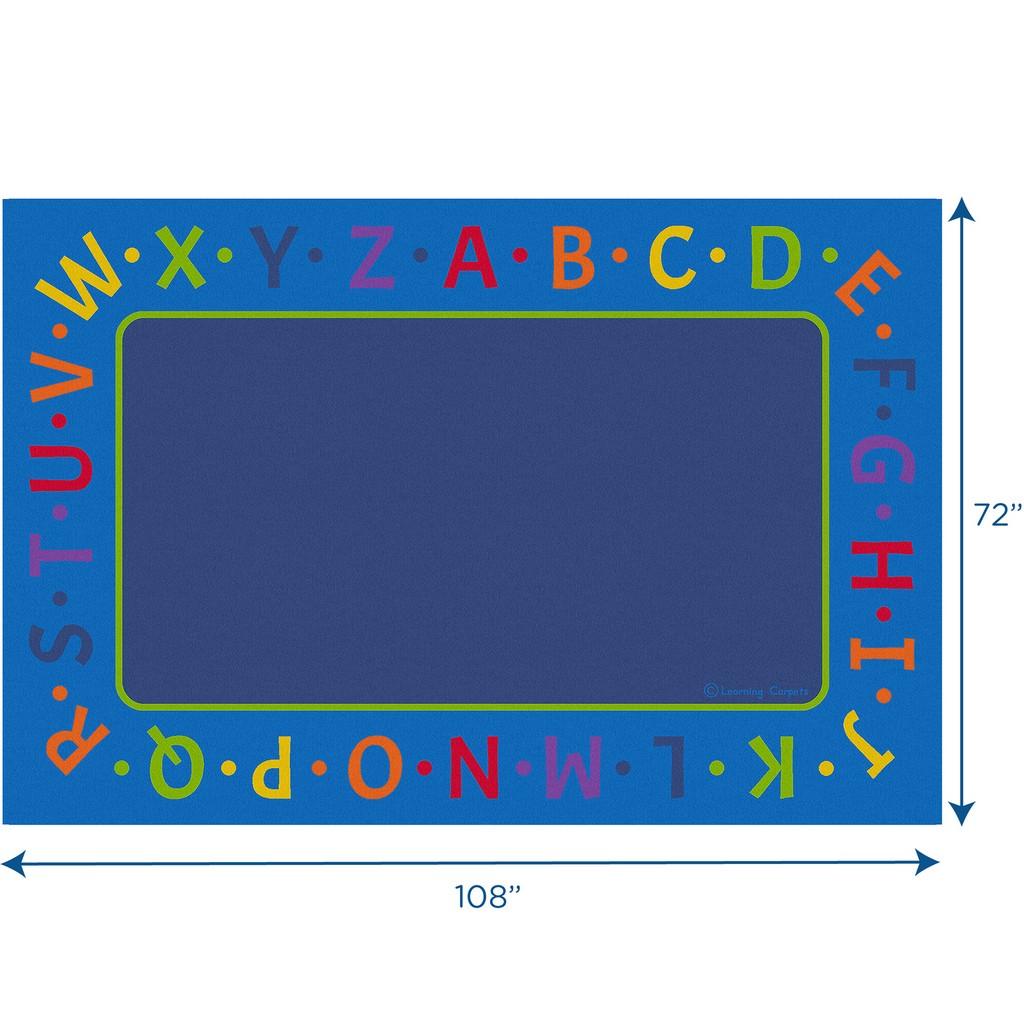 Alphabet Border - Rectangle Small - Children