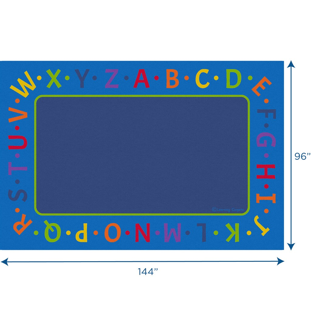 Alphabet Border - Rectangle Large - Children