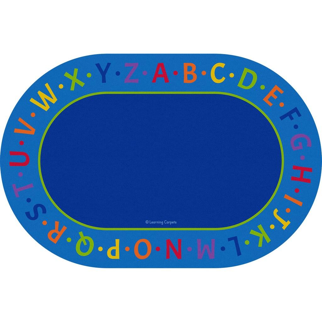 Alphabet Border - Oval Large - Children