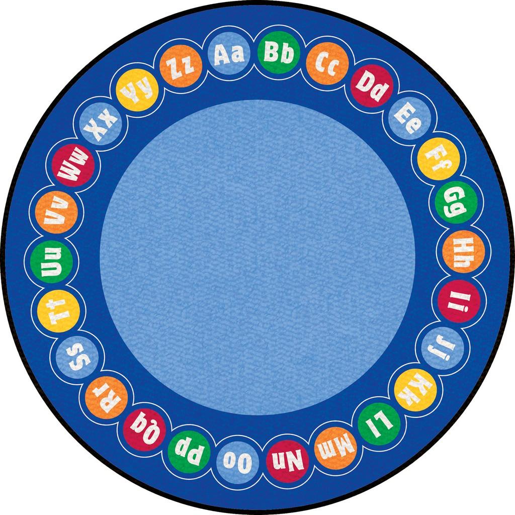 ABC Rotary - Round Large - Children