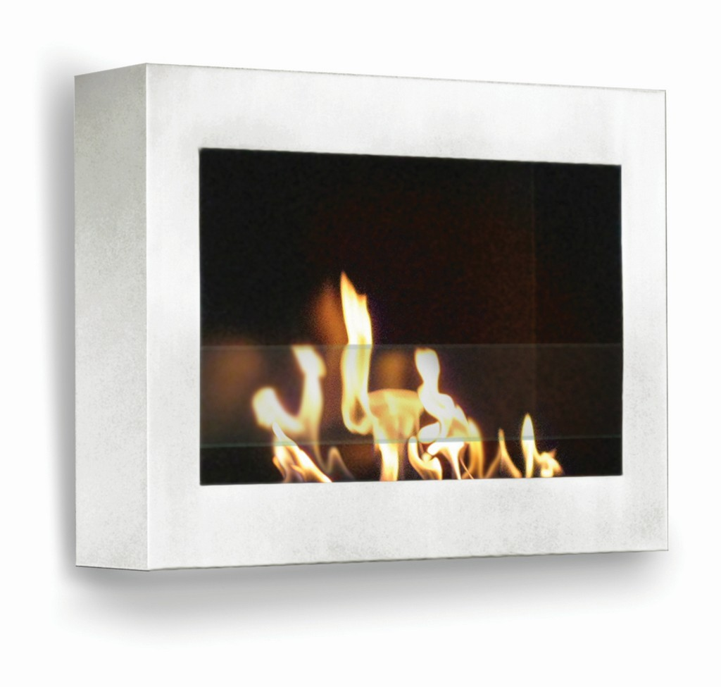 Anywhere Fireplace Indoor Wall Mount Fireplace - SoHo (White-High Gloss) Model - Anywhere Fireplace 90213