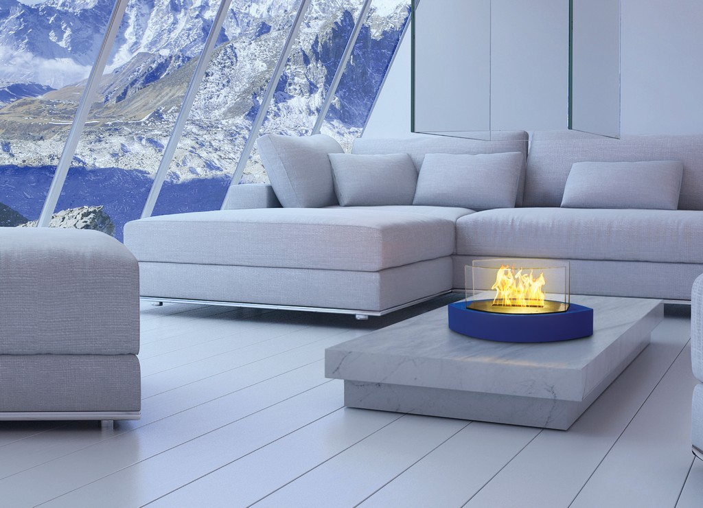 Anywhere Fireplace Tabletop Fireplace-Lexington Model Blue - Anywhere Fireplace 90216