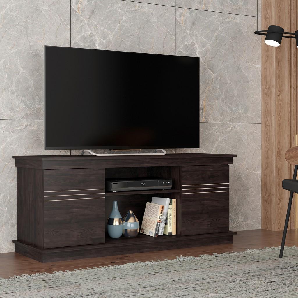TV Stand ALEC Tobacco in Tobacco - Bertolini F.90003.073