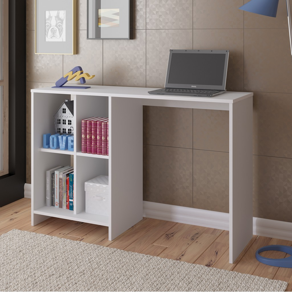 Seattle Desk in White - Bertolini 4087