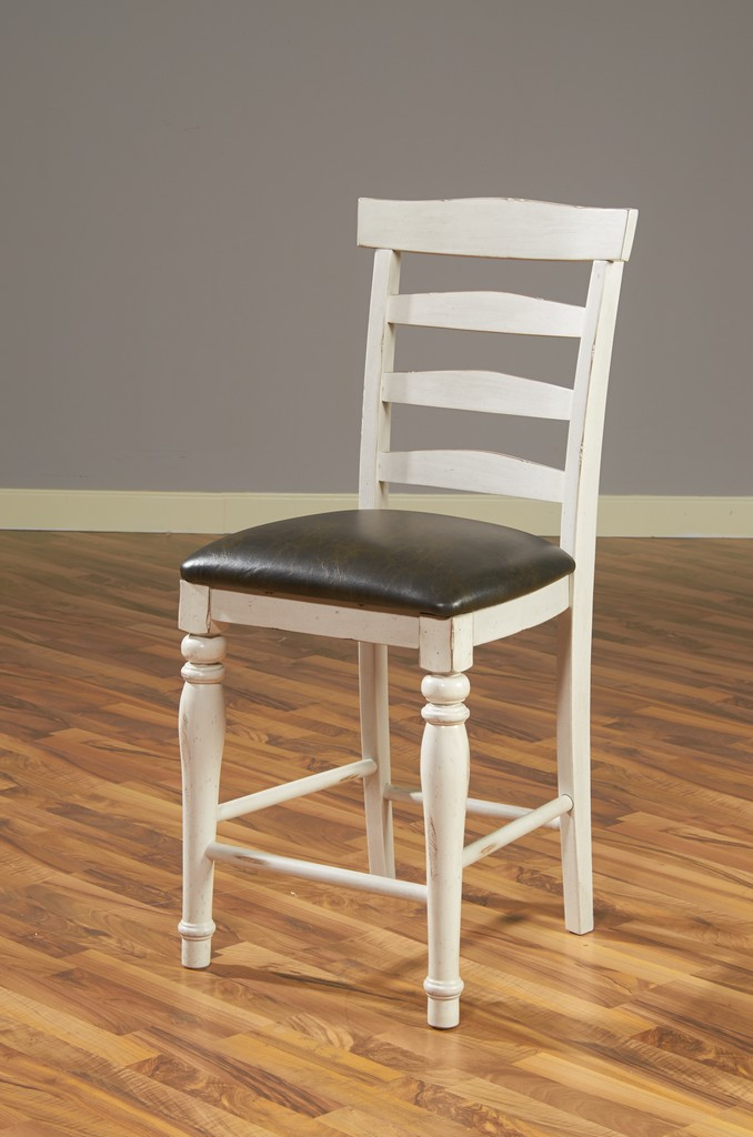 Bourbon County Ladderback Barstool - Sunny Designs 1432FC-24C