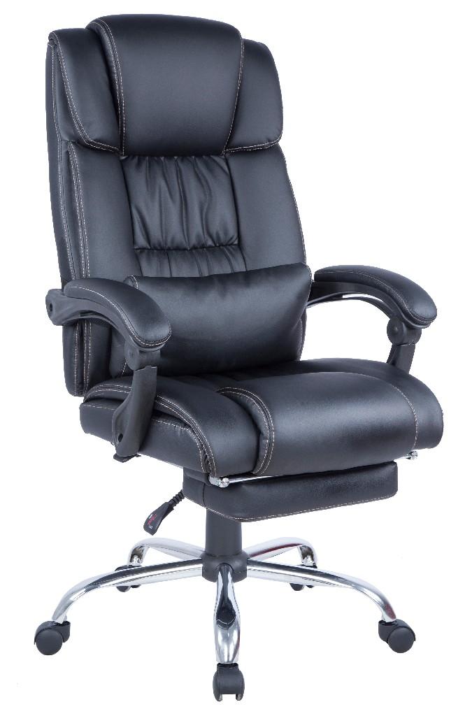 Modern Ergonomic Computer Chair Extendable Footrest