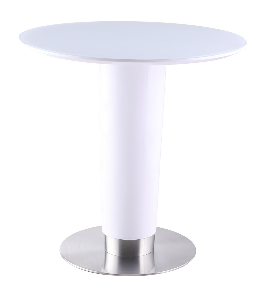 Agnes White Counter Table - Chintaly AGNES-CNT-WHT