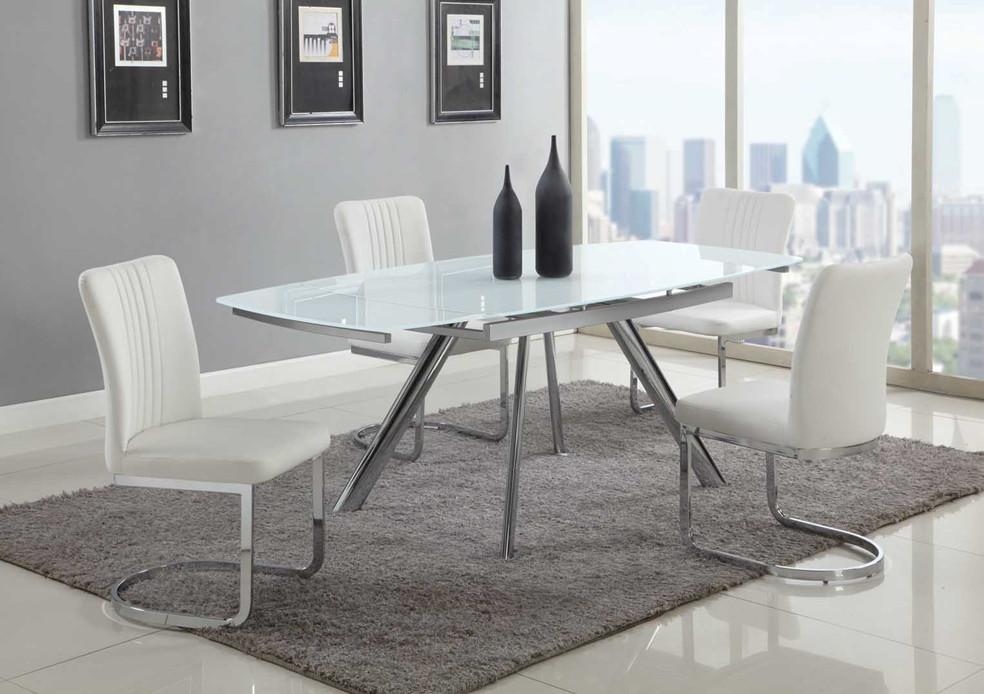 Alina-5PC (Table + 4 Chairs) - Chintaly ALINA-5PC