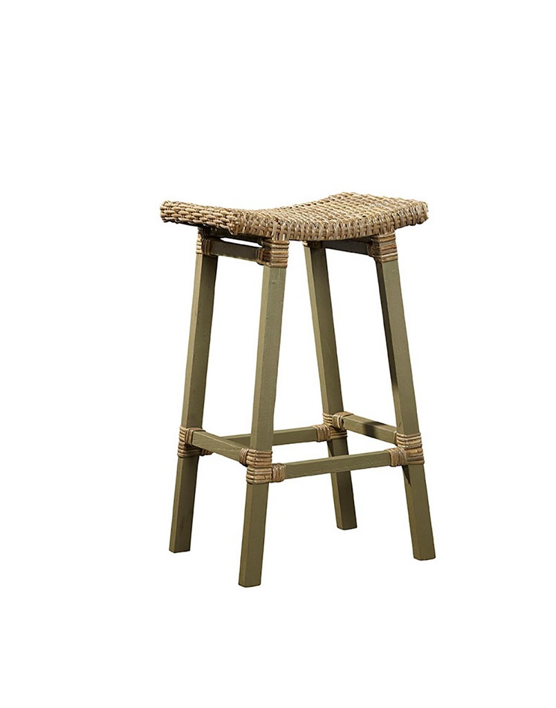 Country Woven Kubu Bar Stool - Furniture Classics 18-04-DG