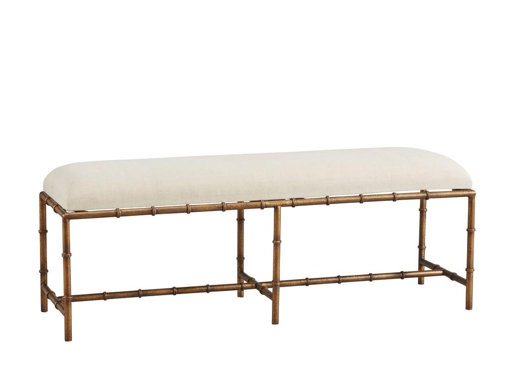 Anubis Iron Bench - Furniture Classics 51740AC78