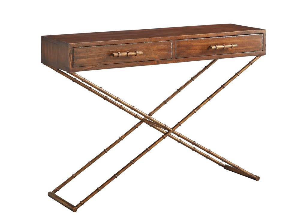Anubis Cross Leg Console Table - Furniture Classics 57705AE67