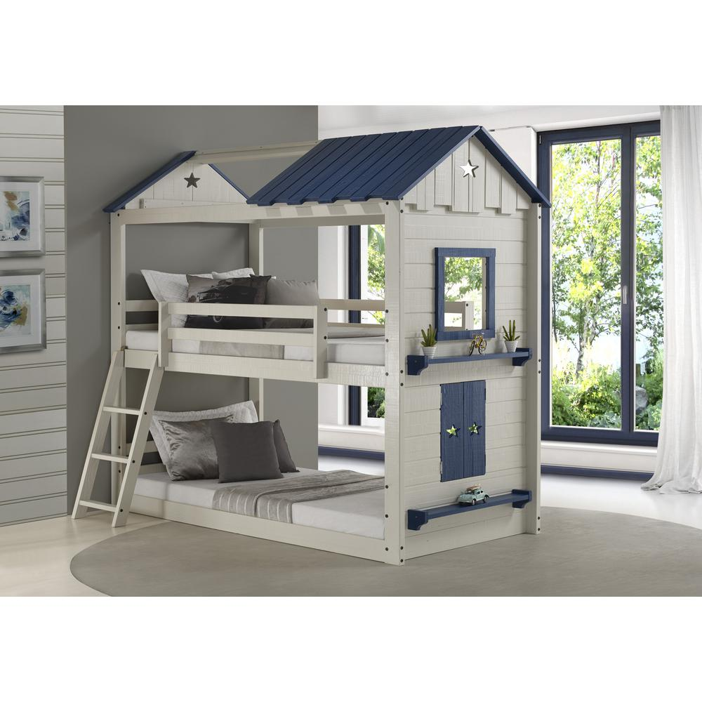 Donco Kids Twin Star Gaze Bunkbed