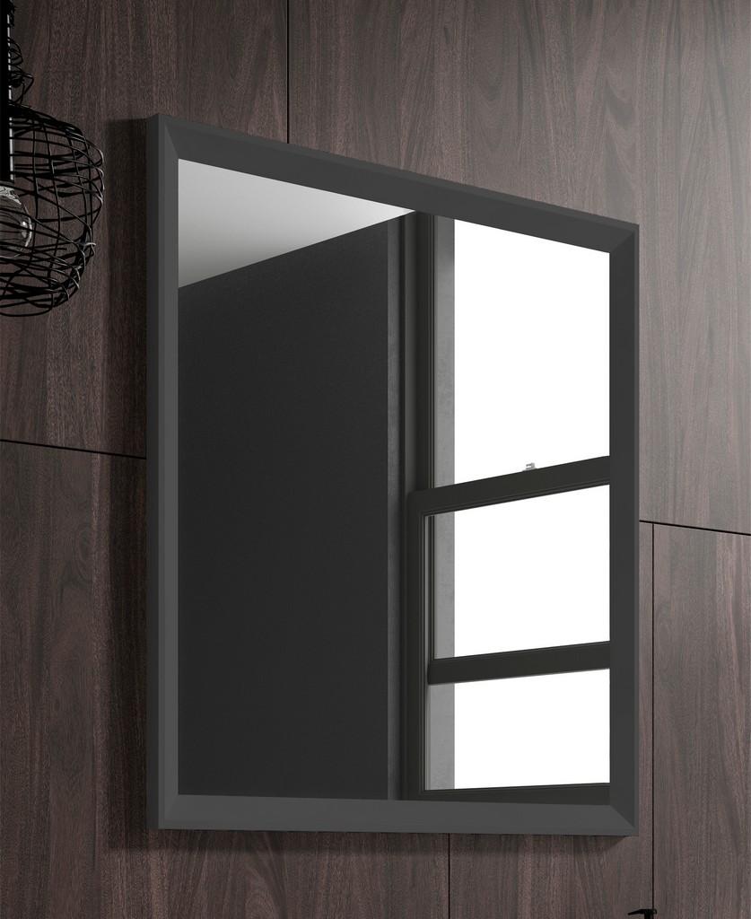 "24"" grey Decor mirror - Lucena Bath 2535"
