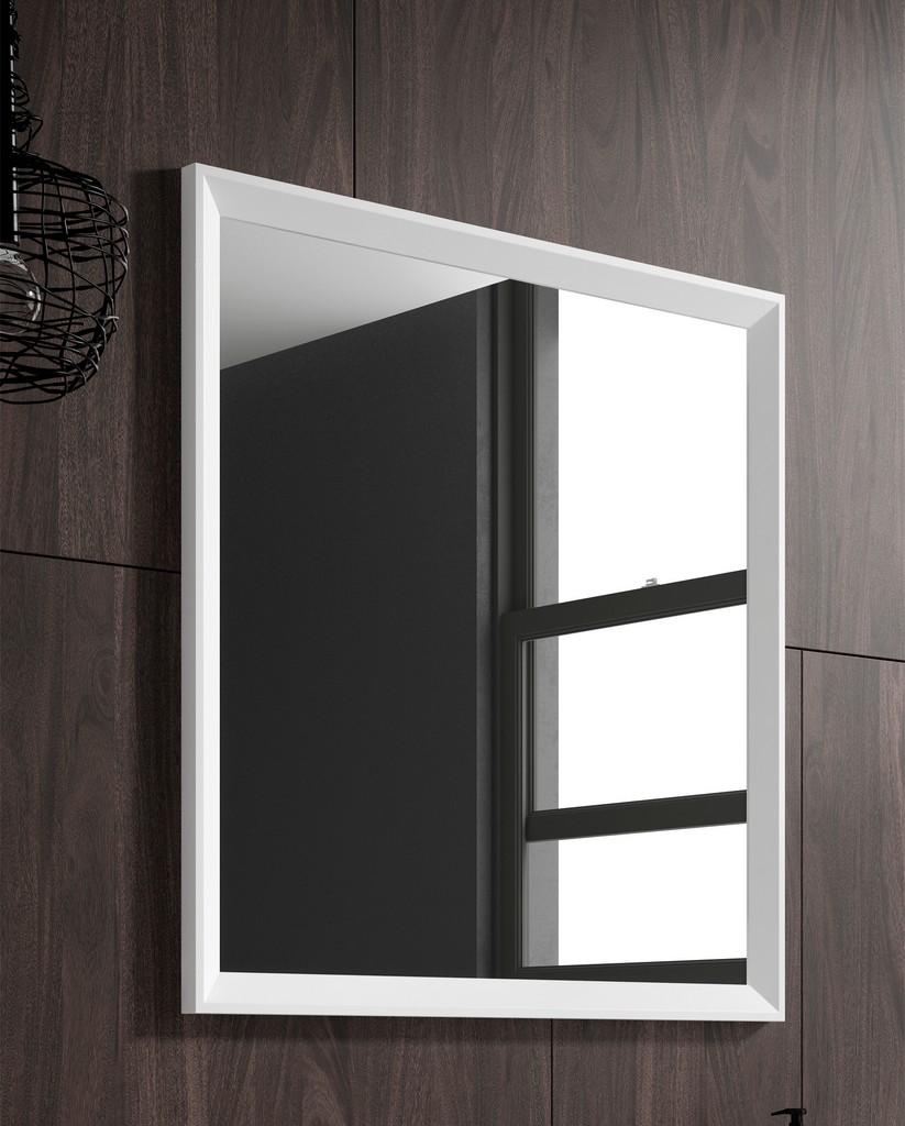 "32"" white Decor mirror - Lucena Bath 2536"