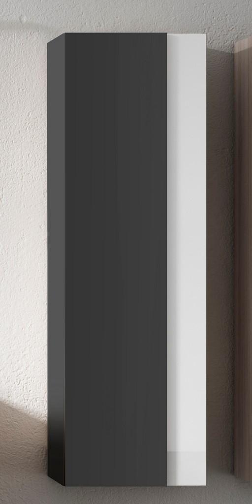 grey and white Vision Tall Unit - Lucena Bath 3125-04/white