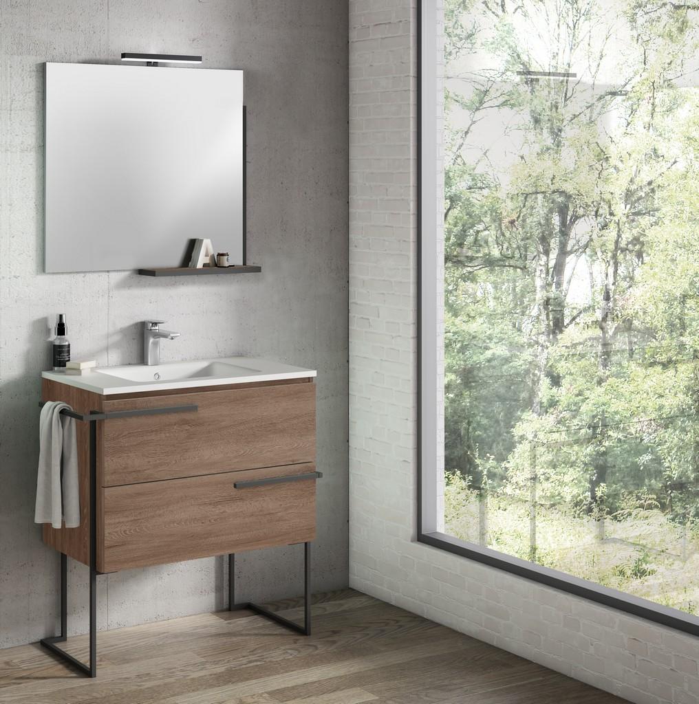 "32"" Terra Scala Vanity with Legs and Towel Bar - Lucena Bath 3883LTB"