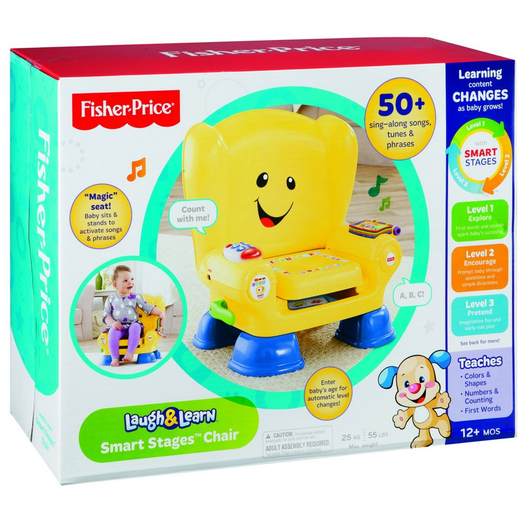 Laugh & Learn Smart Stages Chair - Fisher-Price FPBFK51