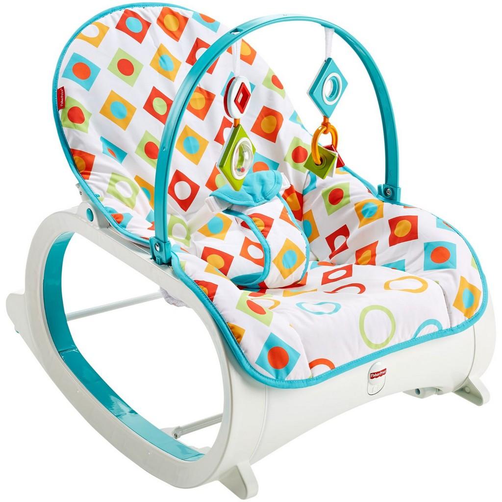 Infant-to-Toddler Rocker, Geo Diamonds - Fisher-Price FPCMP83