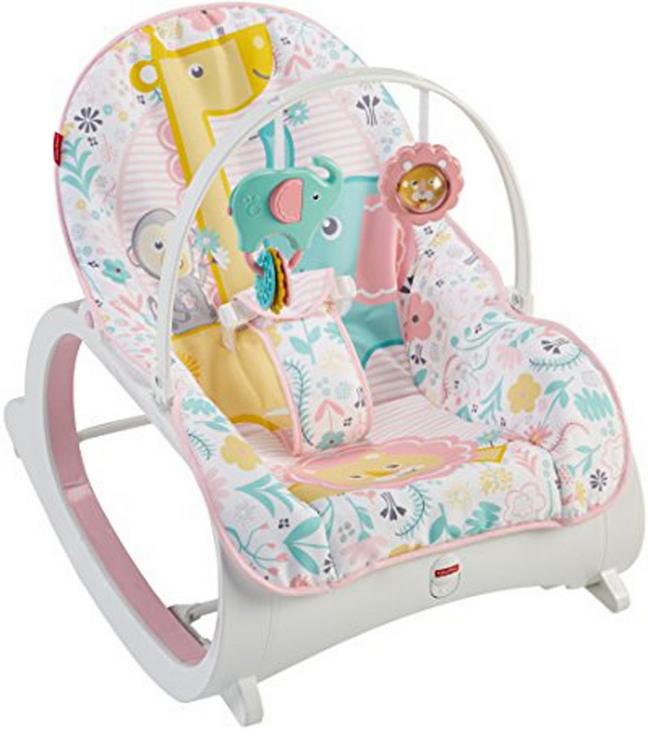 Infant-to-Toddler Rocker-Pink - Fisher-Price FPDTH00
