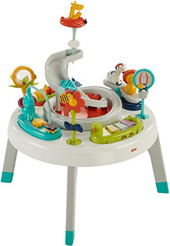 2-in-1 Sit-to-Stand Activity Center - Spin