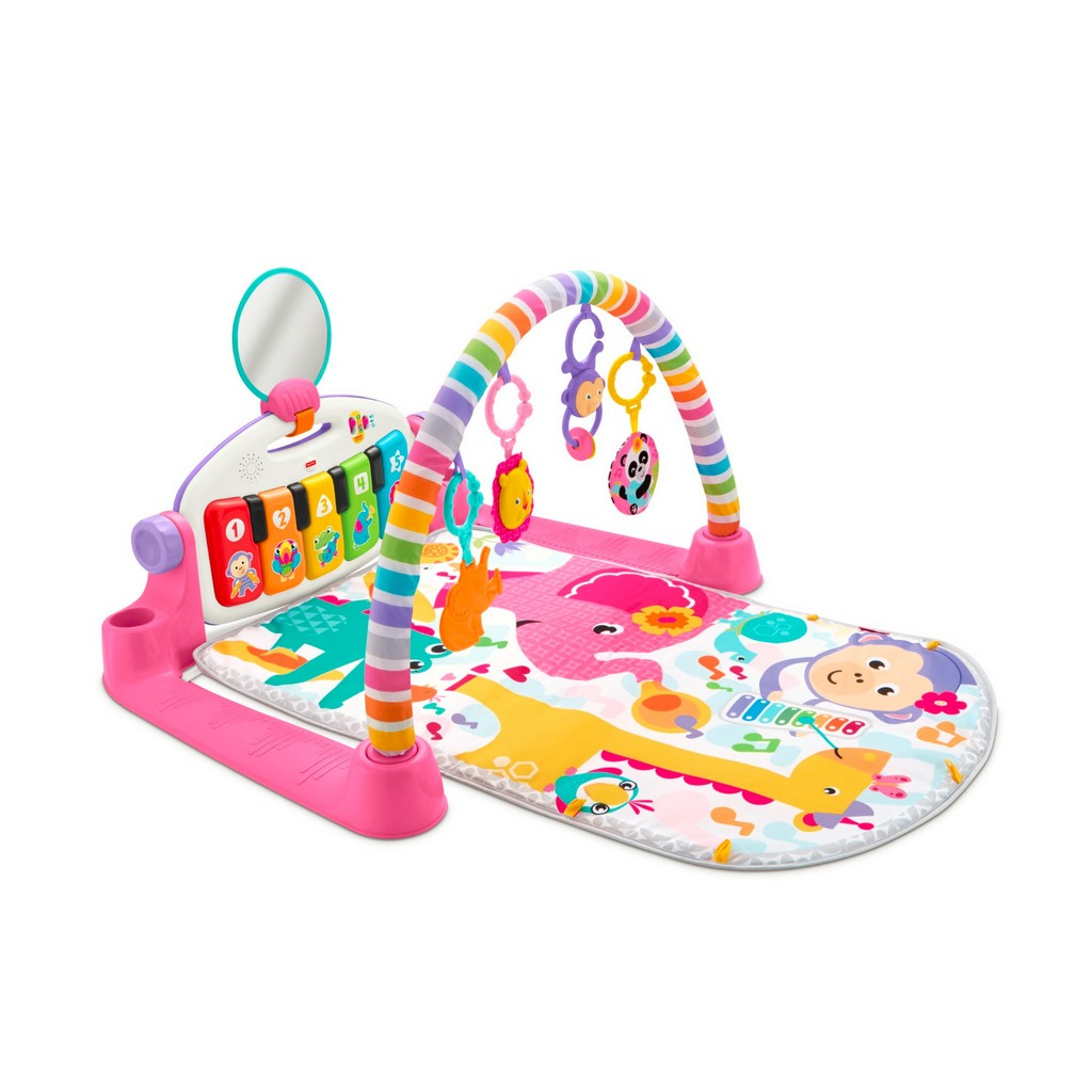 Deluxe Kick and Play Piano Gym, Pink - Fisher-Price FPFGG46