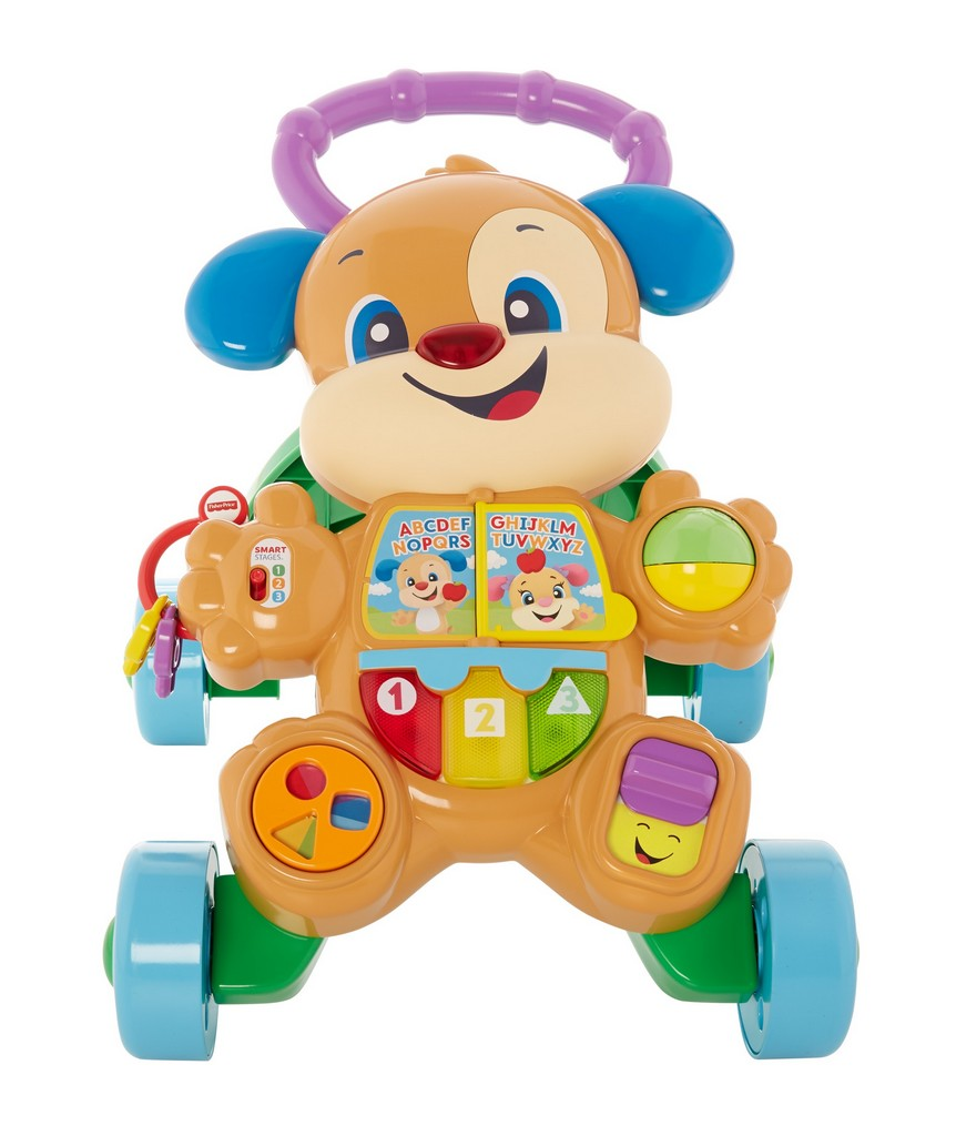Laugh and Learn Smart Stages Learn with Puppy Walker - Fisher-Price FPFHY94