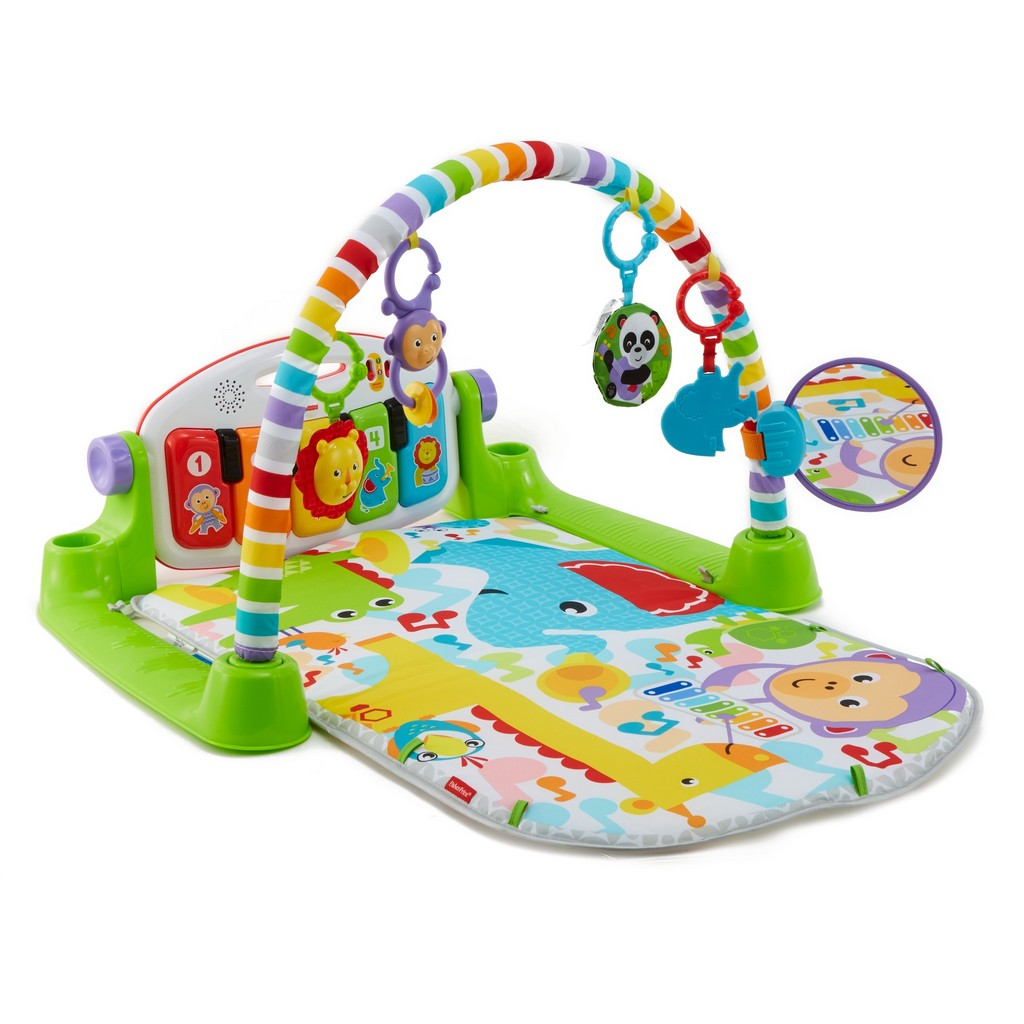 Deluxe Kick & Play Piano Gym, Green - Fisher-Price FPFVY57