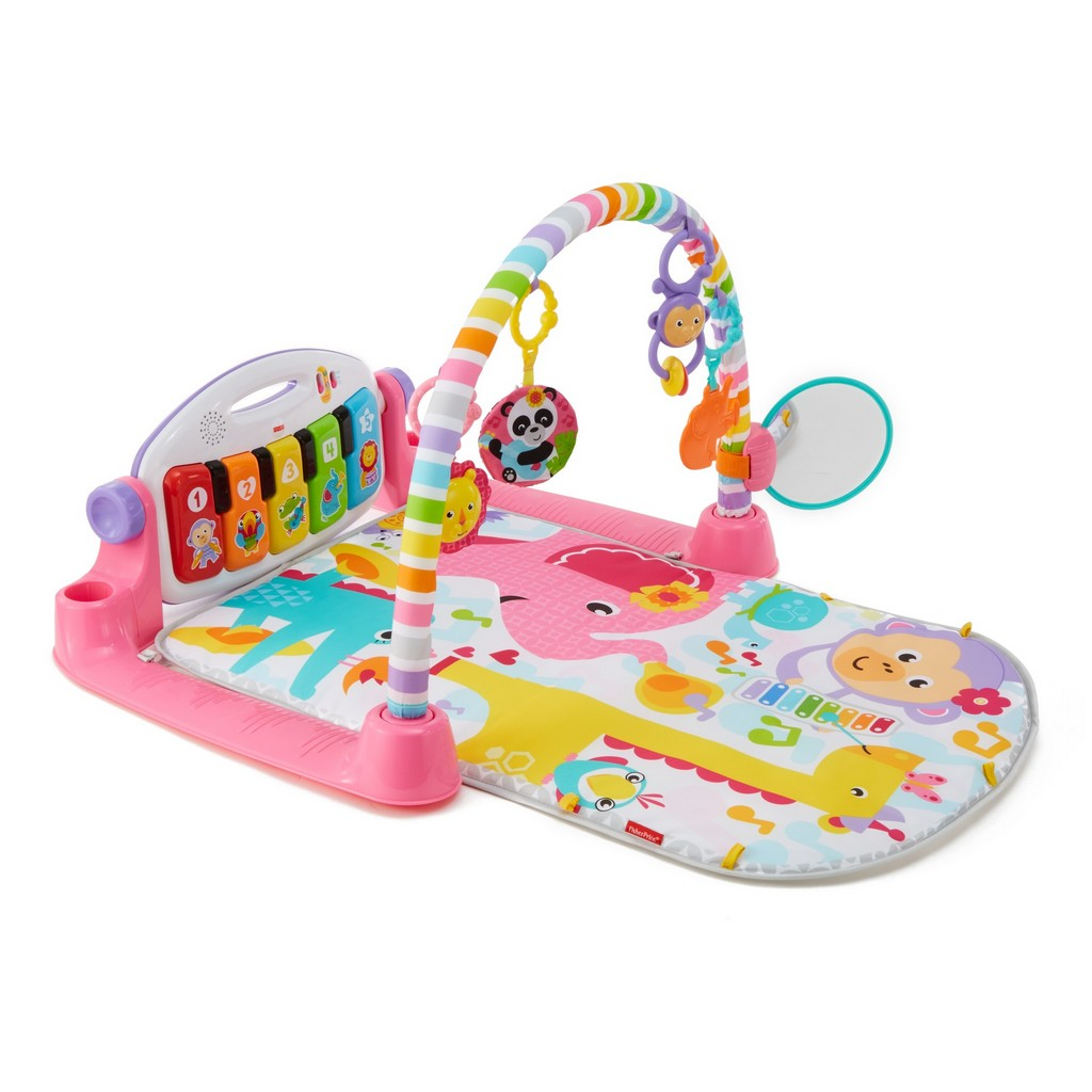 Deluxe Kick & Play Piano Gym, Pink - Fisher-Price FPFVY58