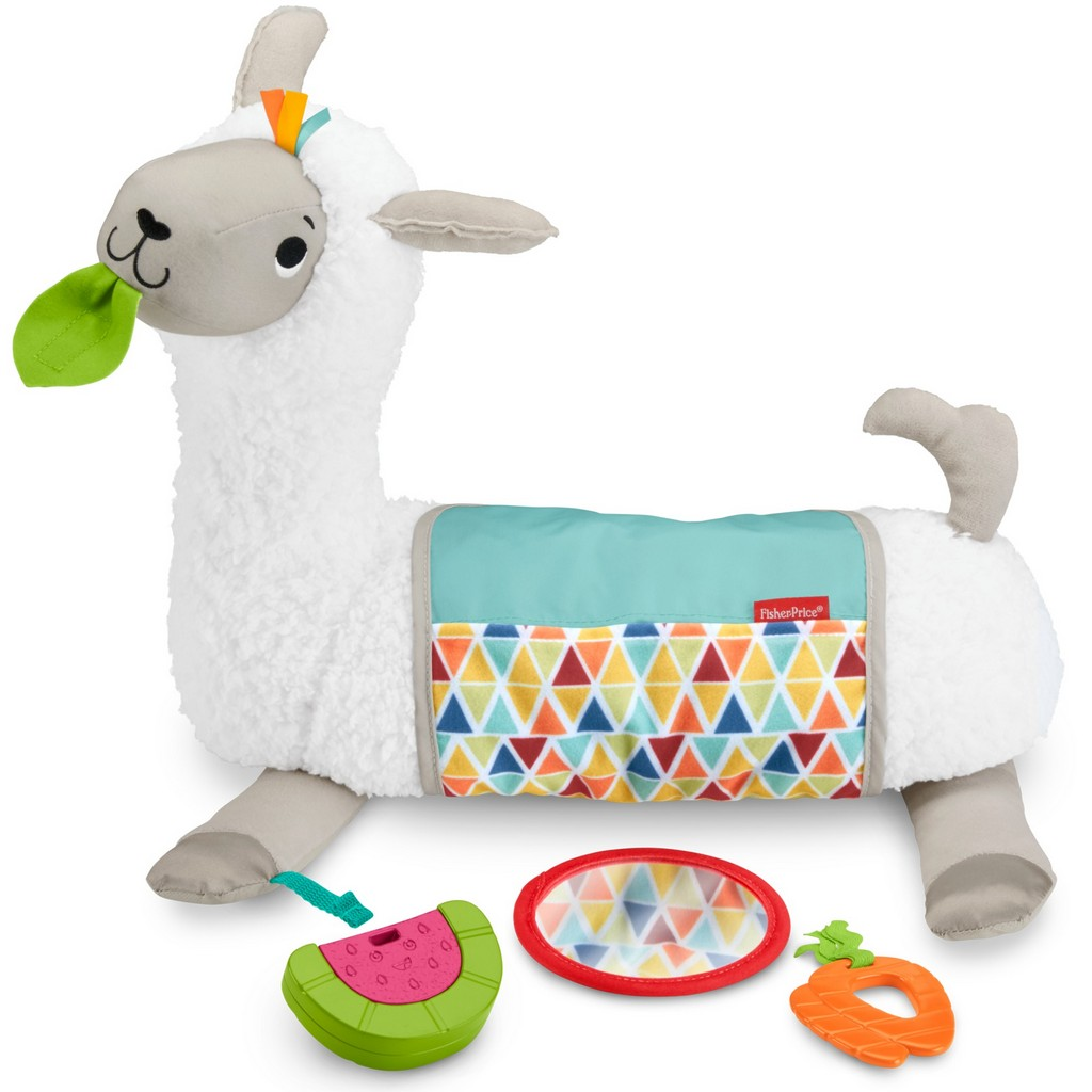Grow-with-Me Tummy Time Llama - Fisher-Price FPFXC36
