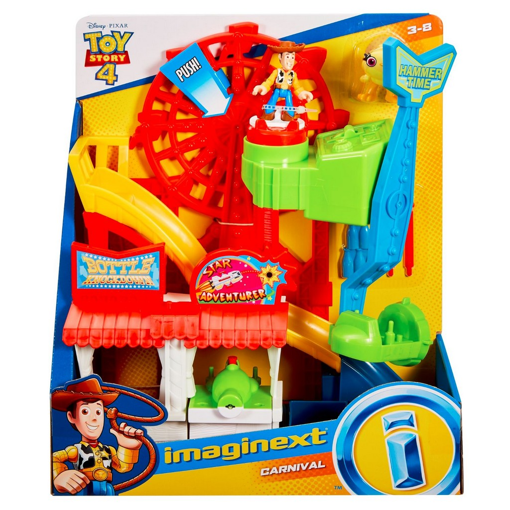 Imaginext Toy Story 4 Carnival Playset - Fisher-Price FPGBG66