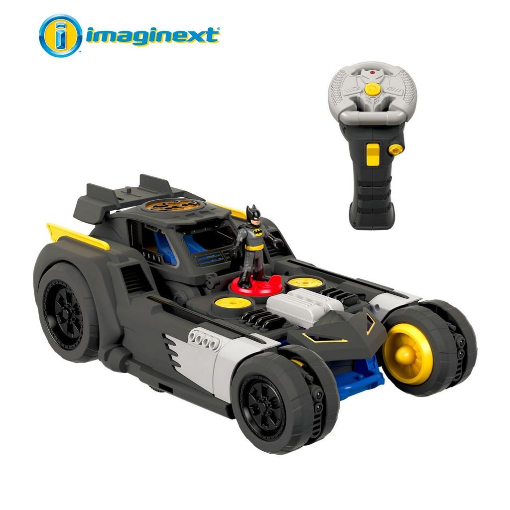 Imaginext DC Super Friends Transforming Batmobile R/C - Fisher-Price FPGBK77