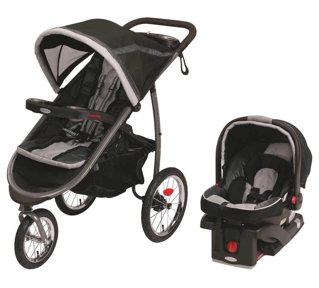 FastAction Fold Jogger Click Connect Travel System - Gotham - Graco 1934761
