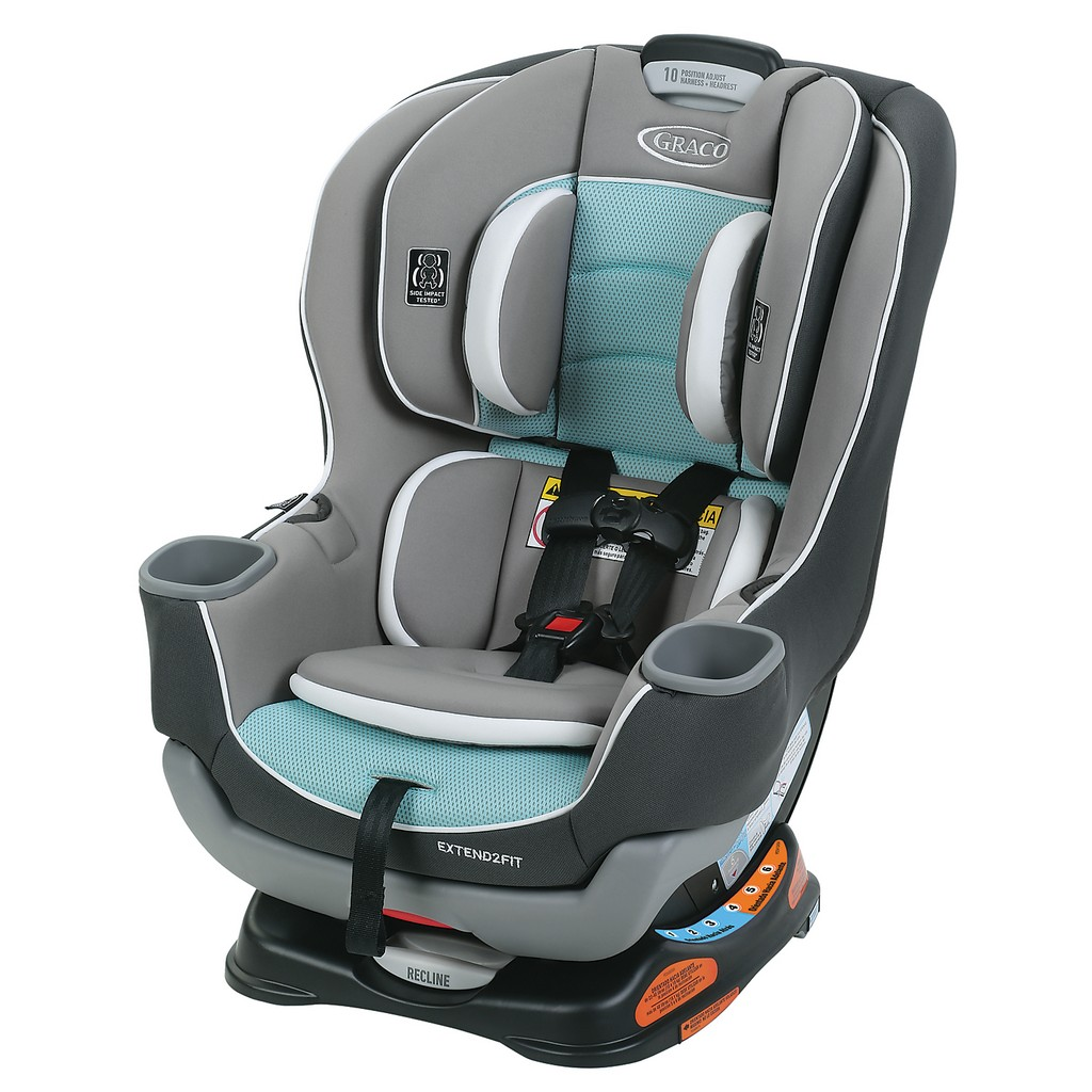 Graco Extend2Fit Convertible Car Seat - Spire - Graco 1963211