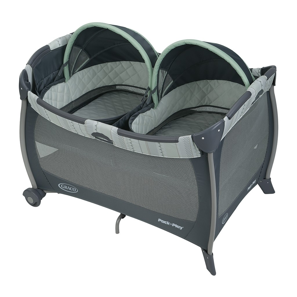 Graco Pack n Play Playard with Twins Bassinet - Mason - Graco 1967965