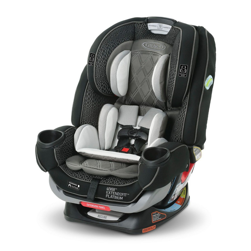 Graco 4Ever Extend2Fit Platinum Convertible 4-in-1 Car Seat - Hurley - Graco 2048733