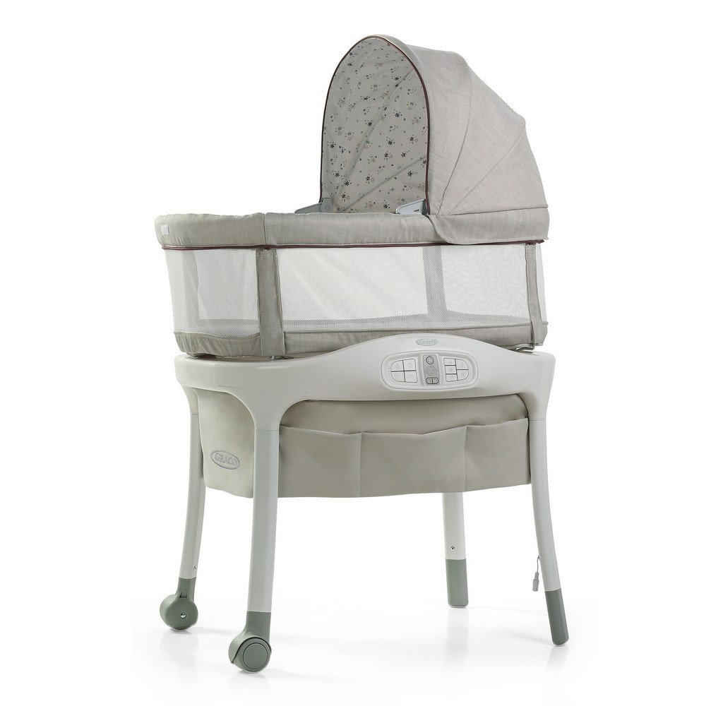 Graco Sense2Snooze Bassinet with Cry Detection Technology - Roma - Graco 2110620