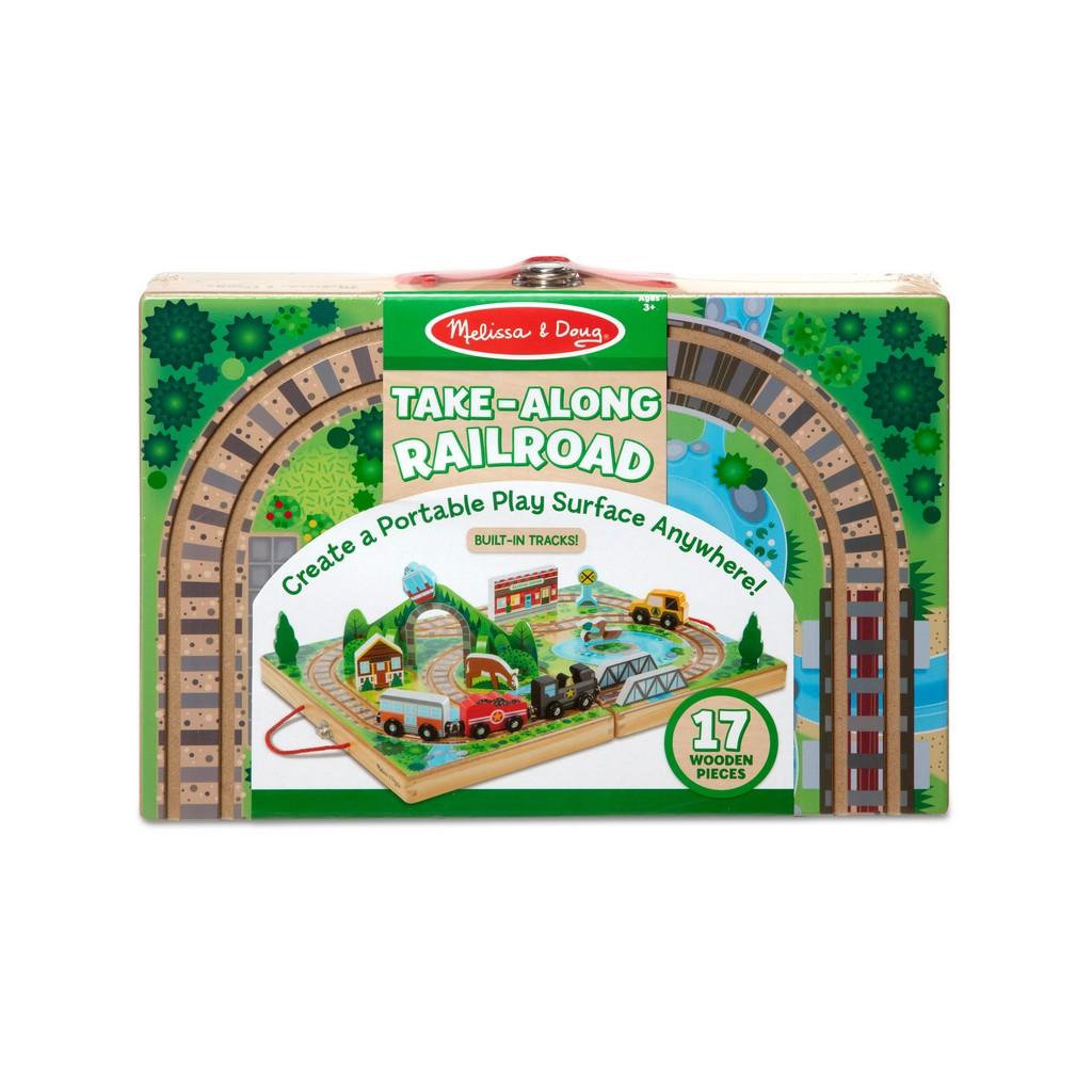 Take-Along Railroad - Melissa & Doug 30140