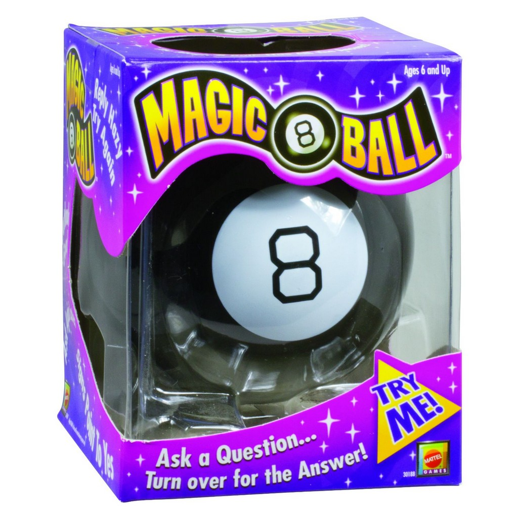 Magic 8 Ball - Mattel MT30188