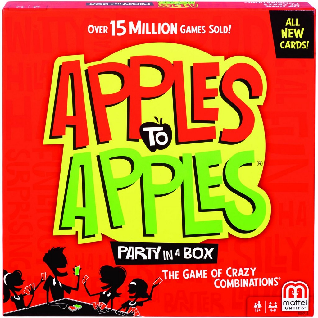 Apples to Apples Party in a Box - Mattel MTBGG15