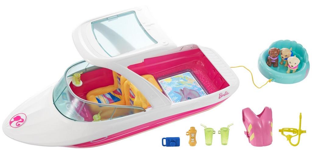 Barbie Dolphin Magic Ocean View Boat - Mattel MTFBD82