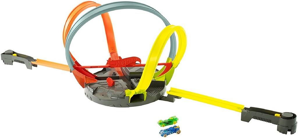 Hot Wheels Roto Revolution Track Set - Mattel MTFDF26