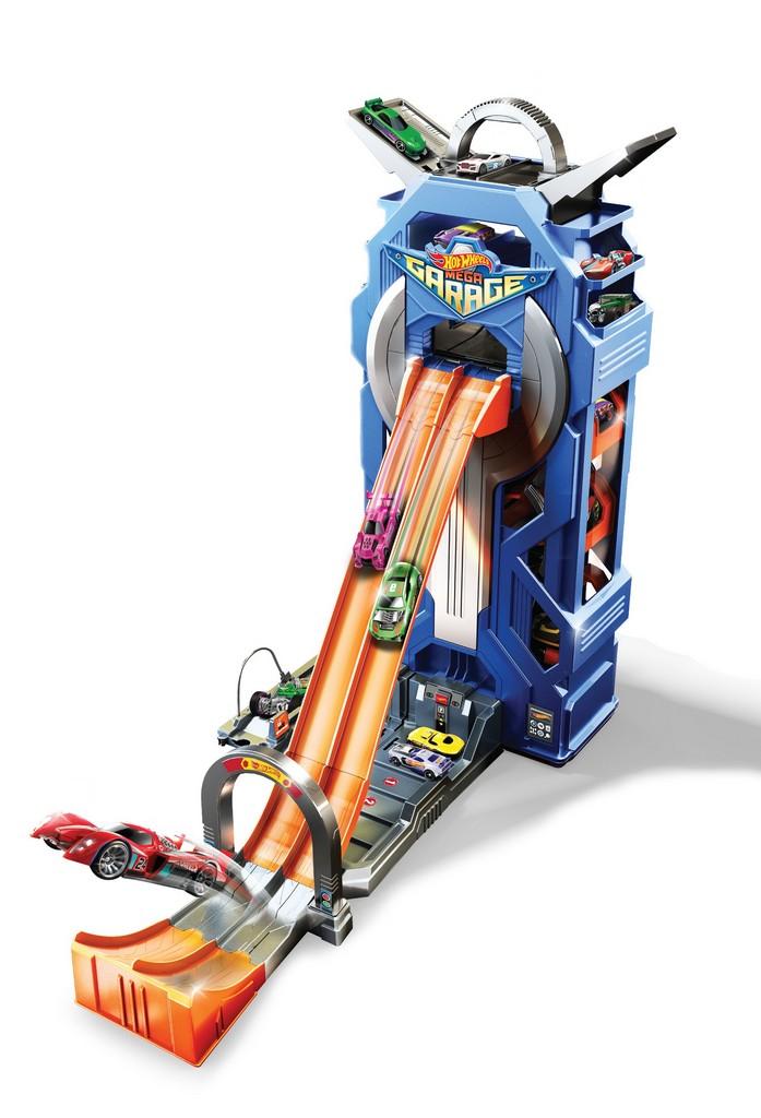 Hot Wheels Mega Garage Playset - Mattel MTFTB68