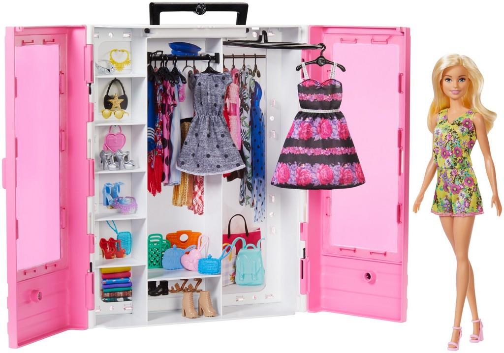 Barbie Fashionistas Ultimate Closet Doll and Accessory - Mattel MTGBK12